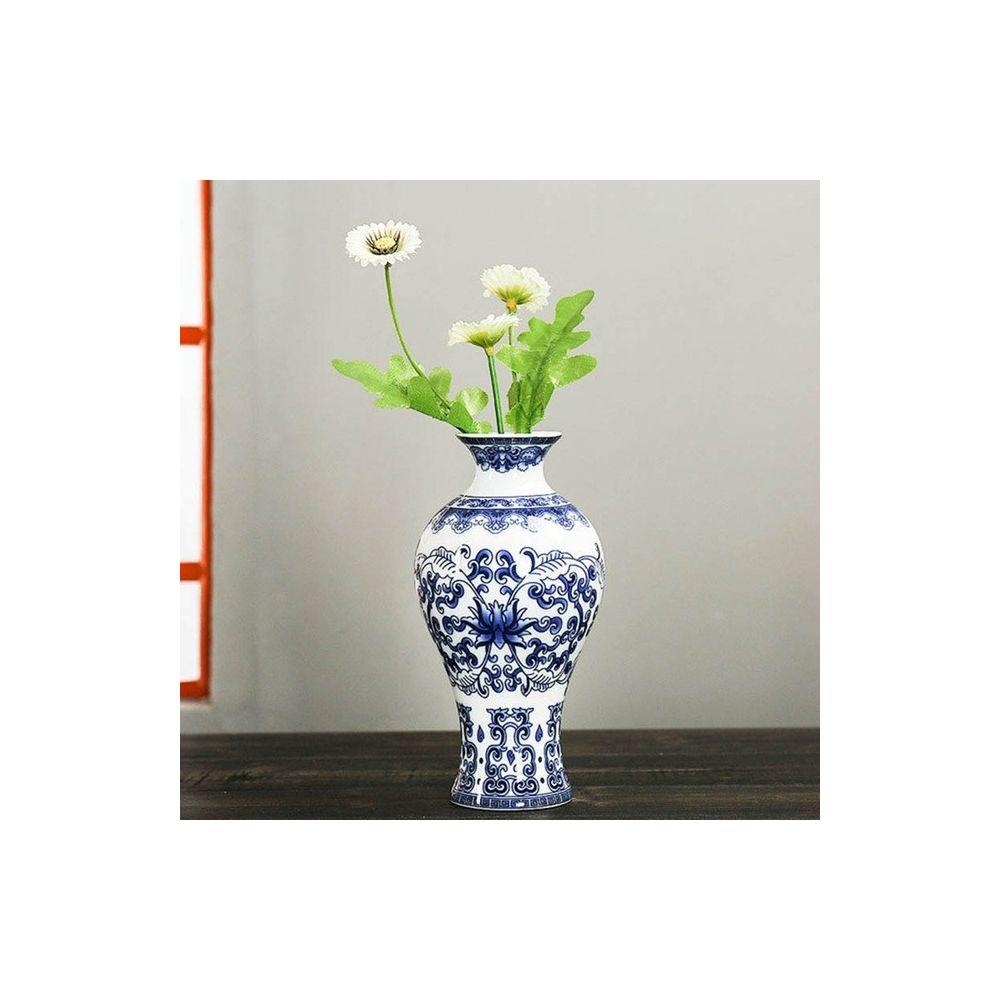 Wewoo Tenture murale Fleur Antique Jardiniere Vase en Céramique Décoration Style One