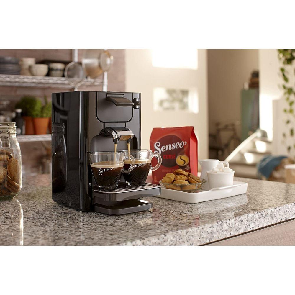 Philips Machine à café à dosettes de 1,2L 1450W noir