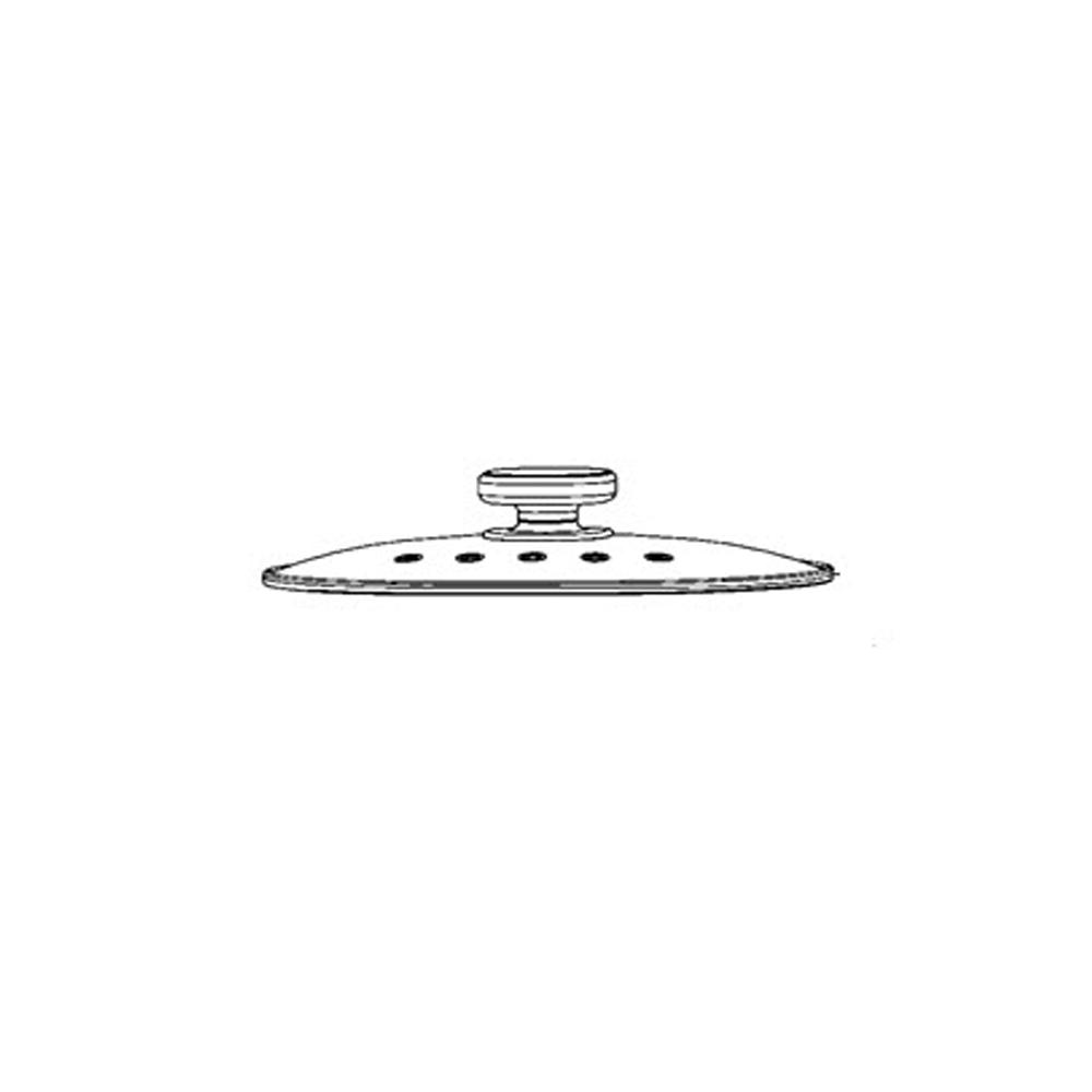Moulinex COUVERCLE VERRE COMPANION POUR PETIT ELECTROMENAGER MOULINEX - MS-0A19336