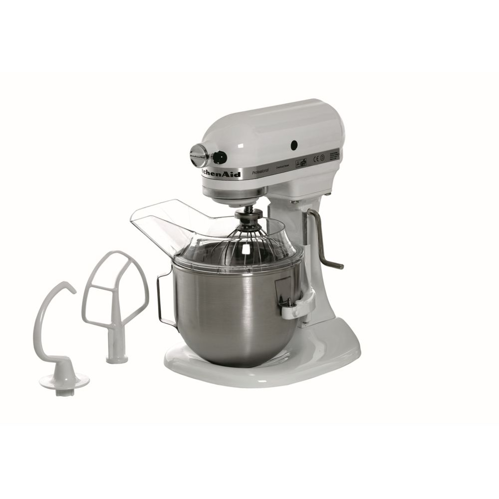 Bartscher Robot KitchenAid 5KPM5EWH blanc