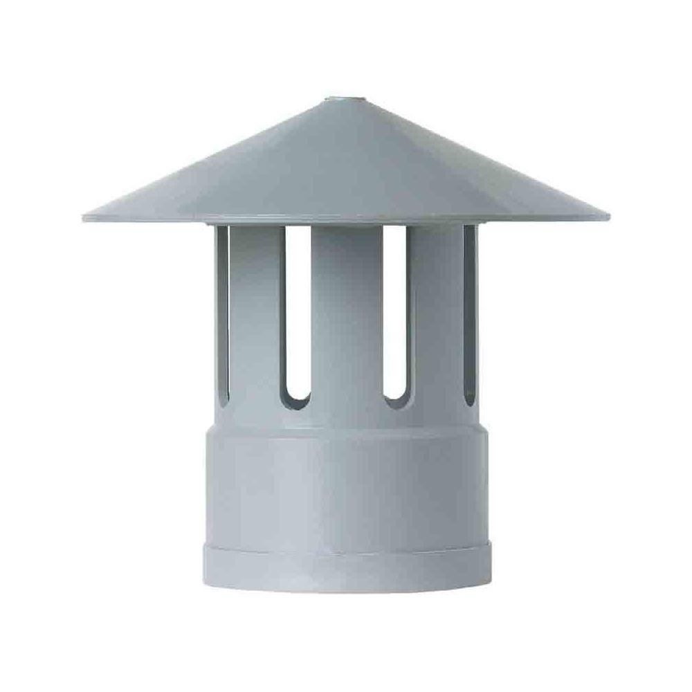Girpi GIRPI - Chapeau de ventilation Ø 40 mm - gris