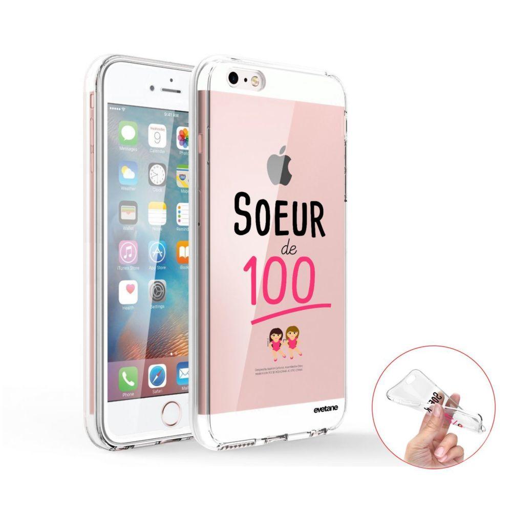 Evetane - Coque iPhone 5/5S/SE 360 intégrale transparente Soeur de ...