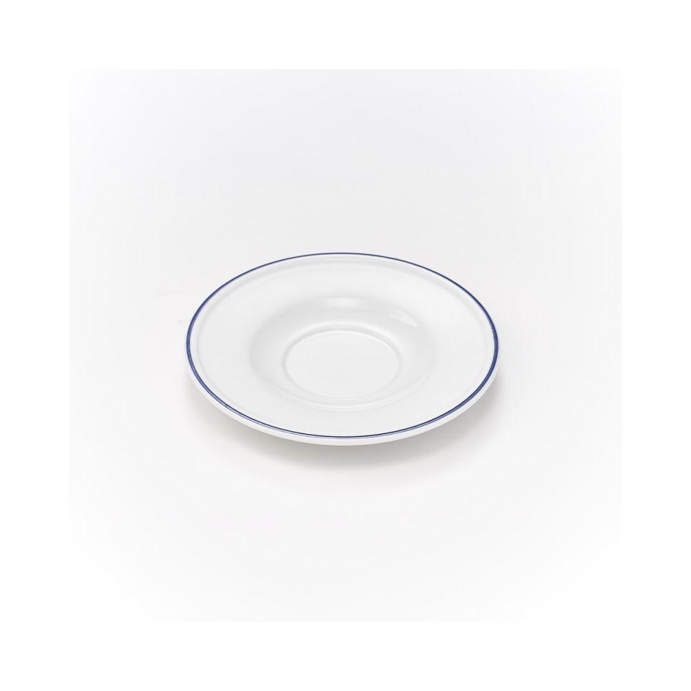 Materiel Chr Pro Soucoupe pour Bol à Soupe Porcelaine Koneser Ø 160 mm - Lot de 6 - Stalgast - 16 cm Porcelaine