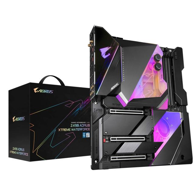 Gigabyte - Z490 AORUS XTREME WATERFORCE - ATX - Carte Mère