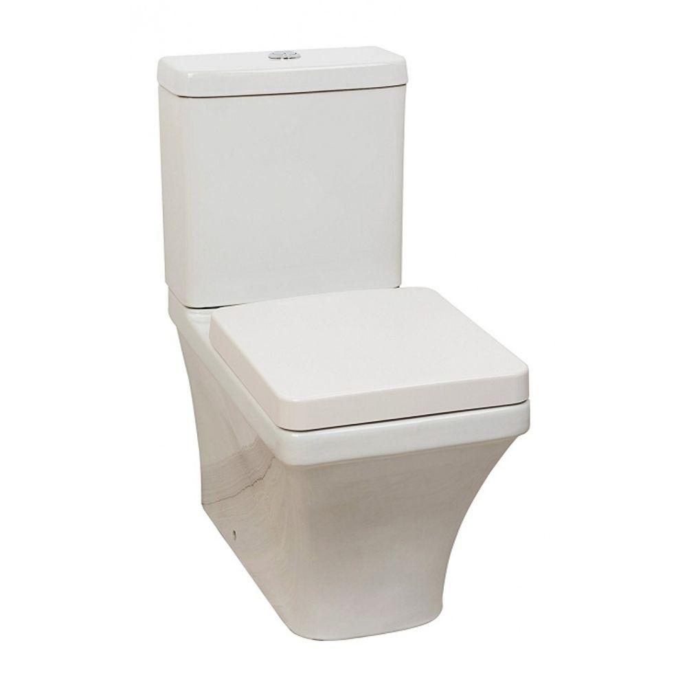 /toilettes hunnique sortie droit 22/cm avec fixation Blanc Jacob Delafon hunnique/