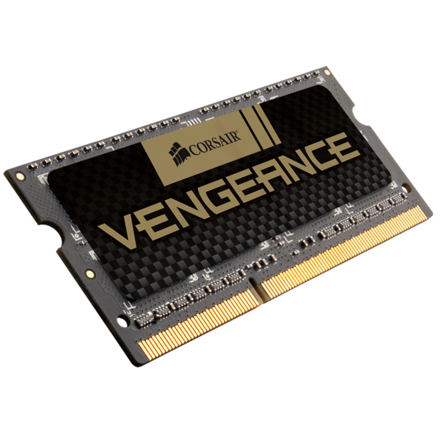 Corsair - Vengeance Performance SODIMM 8 Go 2666 Mhz CL18 Black PCB - RAM PC