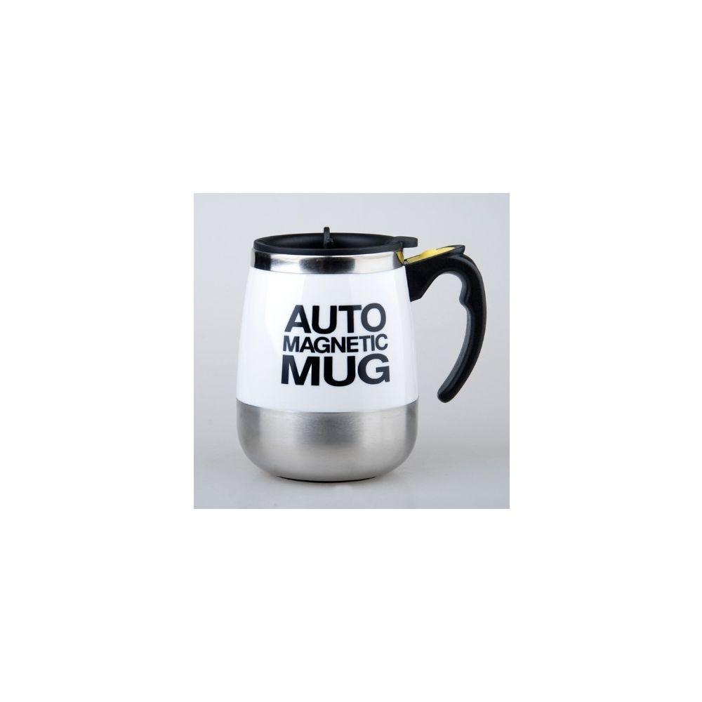 Wewoo Mélangeur portatif de tasse de café de de mélange automatique de 2 PCS blanc