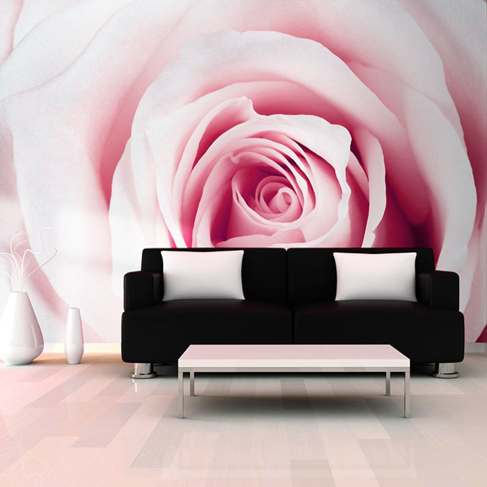 Bimago Papier peint - Rose maze - Décoration, image, art   Fleurs   Roses  