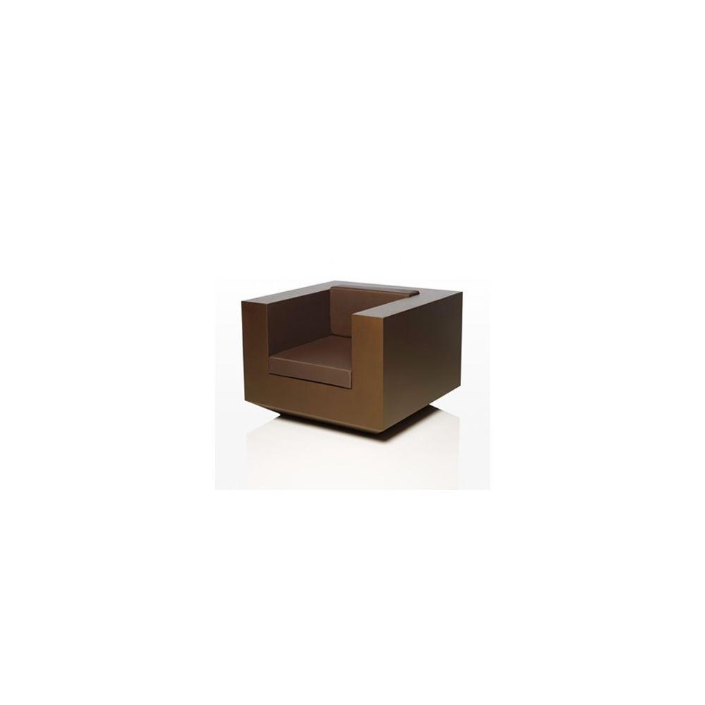 Vondom Fauteuil Lounge Vondom Vela Bronze