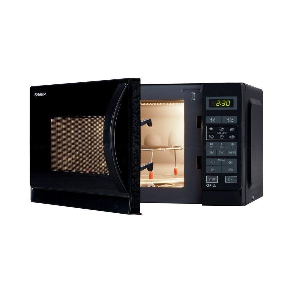 Sharp Four à micro-ondes Grill combiné 20L - R642BKW Noir
