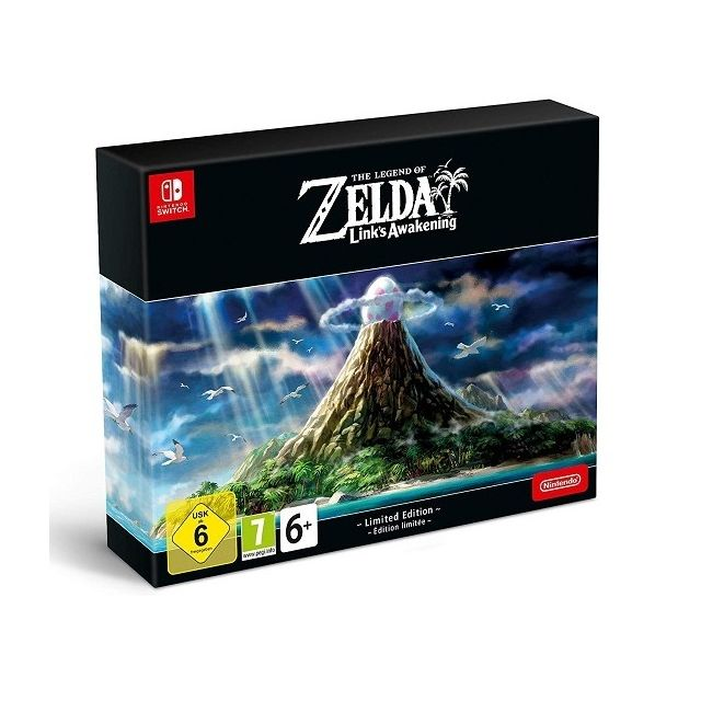 Nintendo - The Legend of Zelda Link s Awakening Edition Limitee - Jeux et Consoles