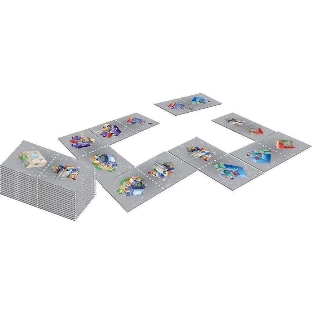 House Of Kids Dominos géants 28 pièces avec sac de rangement La ville