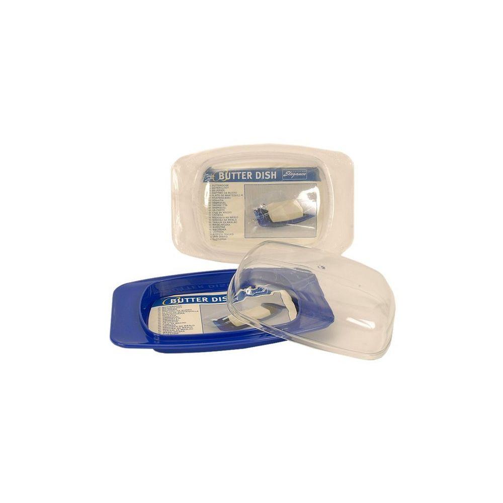 Coolminiprix Lot de 6 - Beurrier plastique 16 x 9,5cm coloris assortis - Qualité COOLMINIPRIX