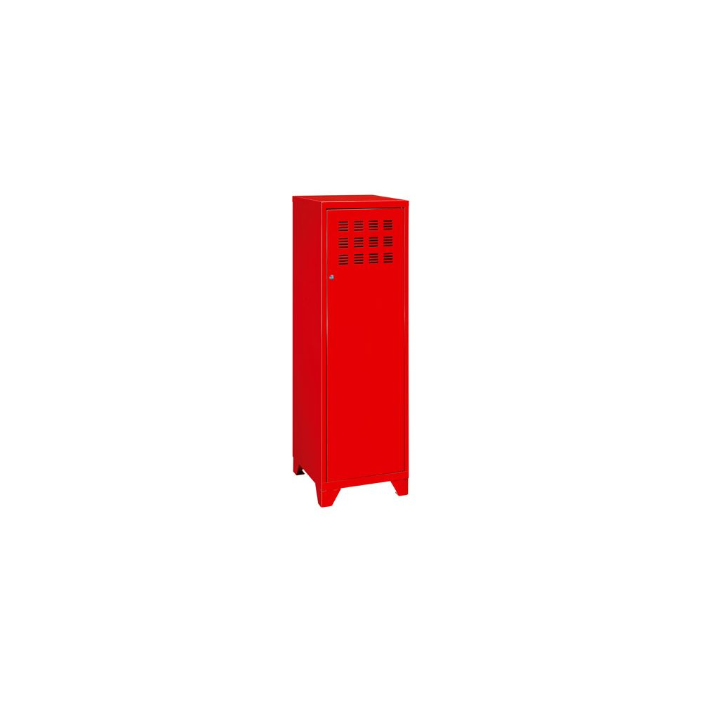 Pierre Henry Maxi casier de bureau métal couleur rouge