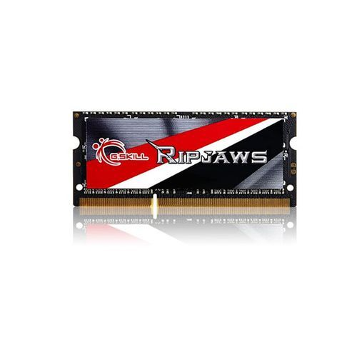 G.Skill - Memoire portable Gskill Ripjaws SO-DIMM DDR3 PC3-12800 - 8 Go - 1600 Mhz - CAS 9 - RAM PC G.Skill