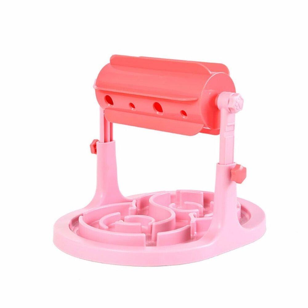 Generic Bol de nourriture pour chien Type de tambour de jouet Leaker Feeder Slow Food Outil de produit réglable pour animaux de