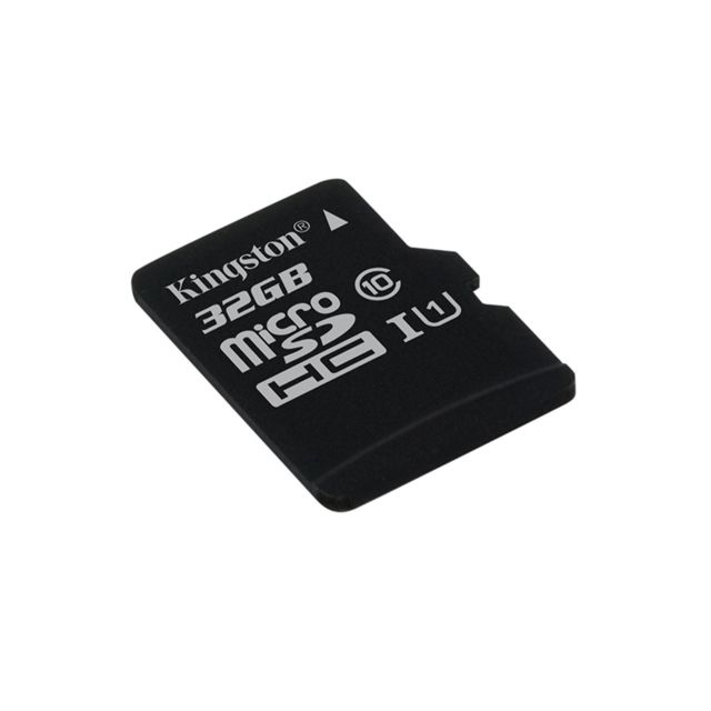 Kingston - Carte Micro SDHC 32Go - sans adaptateur SD - Carte mémoire