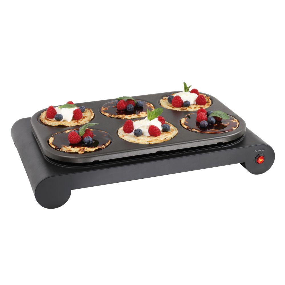 Domoclip Set mini woks, crêpière et gril DOM200