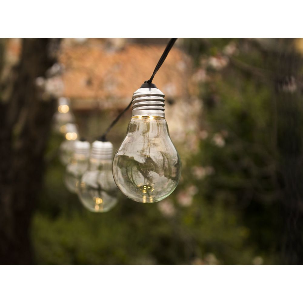 Lumisky Guirlande extérieure LED transparent FANTASY