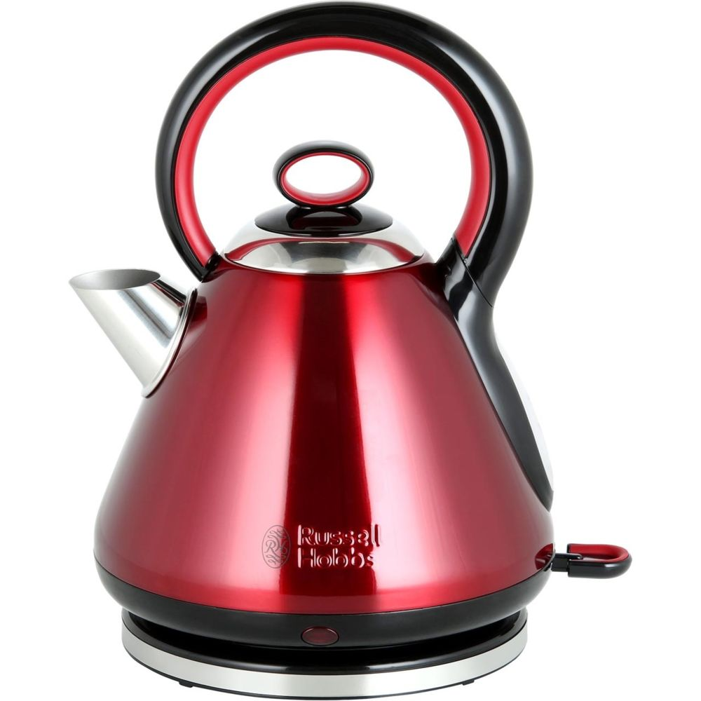 Russell Hobbs Russell Hobbs Bouilloire Quiet Legacy Rouge 3000W 1,7L 21885