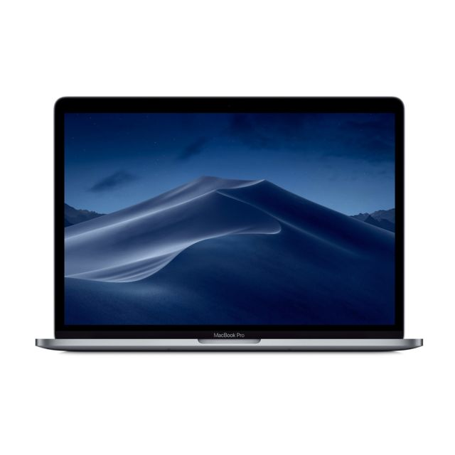 Apple - MacBook Pro 13 Touch Bar 2019 - 128 Go - MUHN2FN/A - Gris sidéral - Ordinateur portable reconditionné