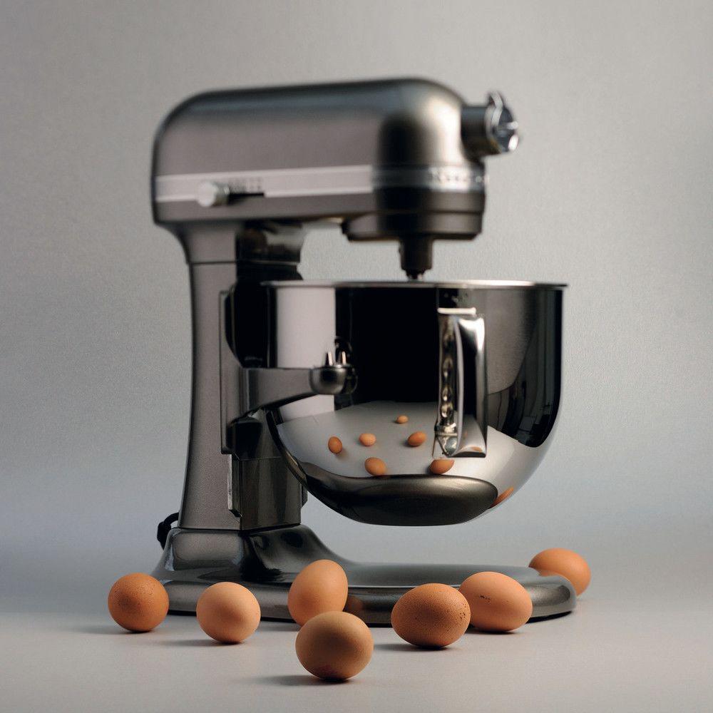 Kitchenaid robot multifonction de 6,9L 500W gris étain argent
