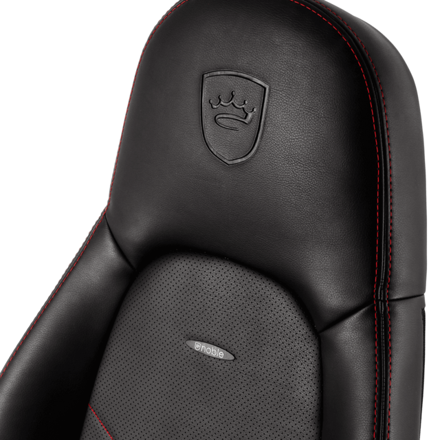 Chaise gamer ICON - Noir/Rouge