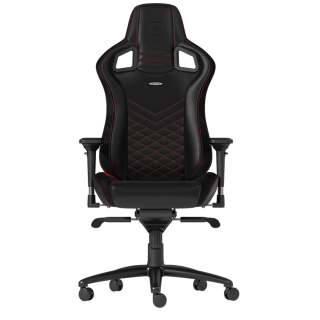 Noblechairs -EPIC - Noir/Rouge Noblechairs  - Chaise gamer