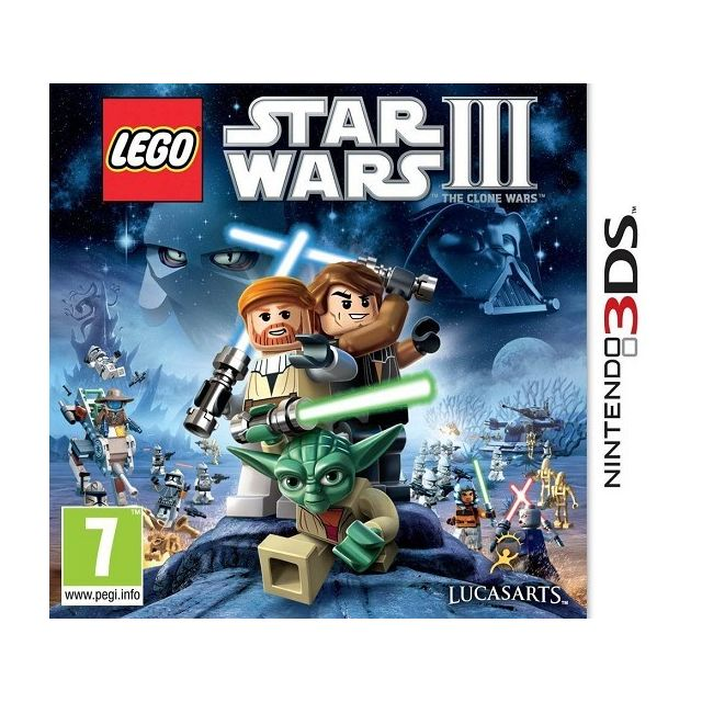 Activision - Lego Star Wars 3 3DS - Nintendo 3DS