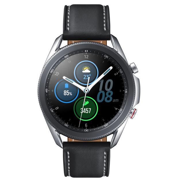 Samsung - Galaxy Watch 3 - 45 mm - 4G - SM-R845FZSAEUB - Silver - Objets connectés reconditionnés