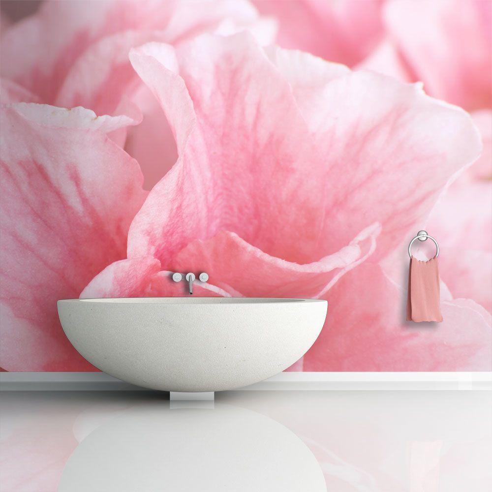 Bimago Papier peint - Fleurs roses de l'azalée - Décoration, image, art | Fleurs |