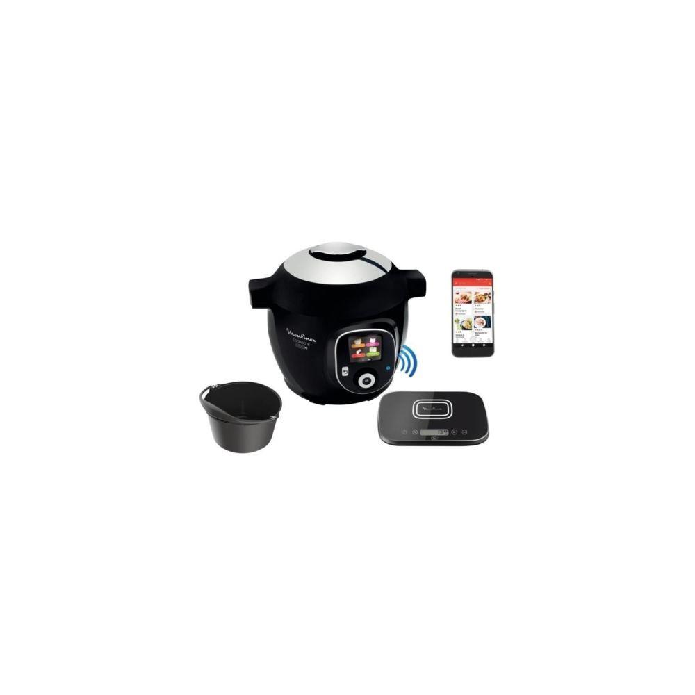Moulinex MOULINEX CE859800 Multicuiseur intelligent COOKEO + Connect avec Balance et Moule de cuisson inclus - 6L - 200 recettes