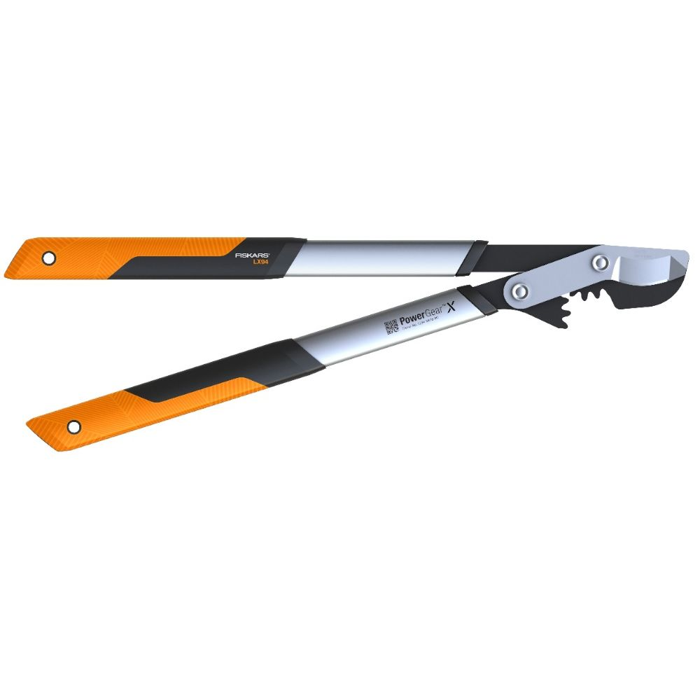 Fiskars Coupe-branches Powergear X - M à crémaillère et à lame franche 65 cm - Ø 50 mm FISKARS
