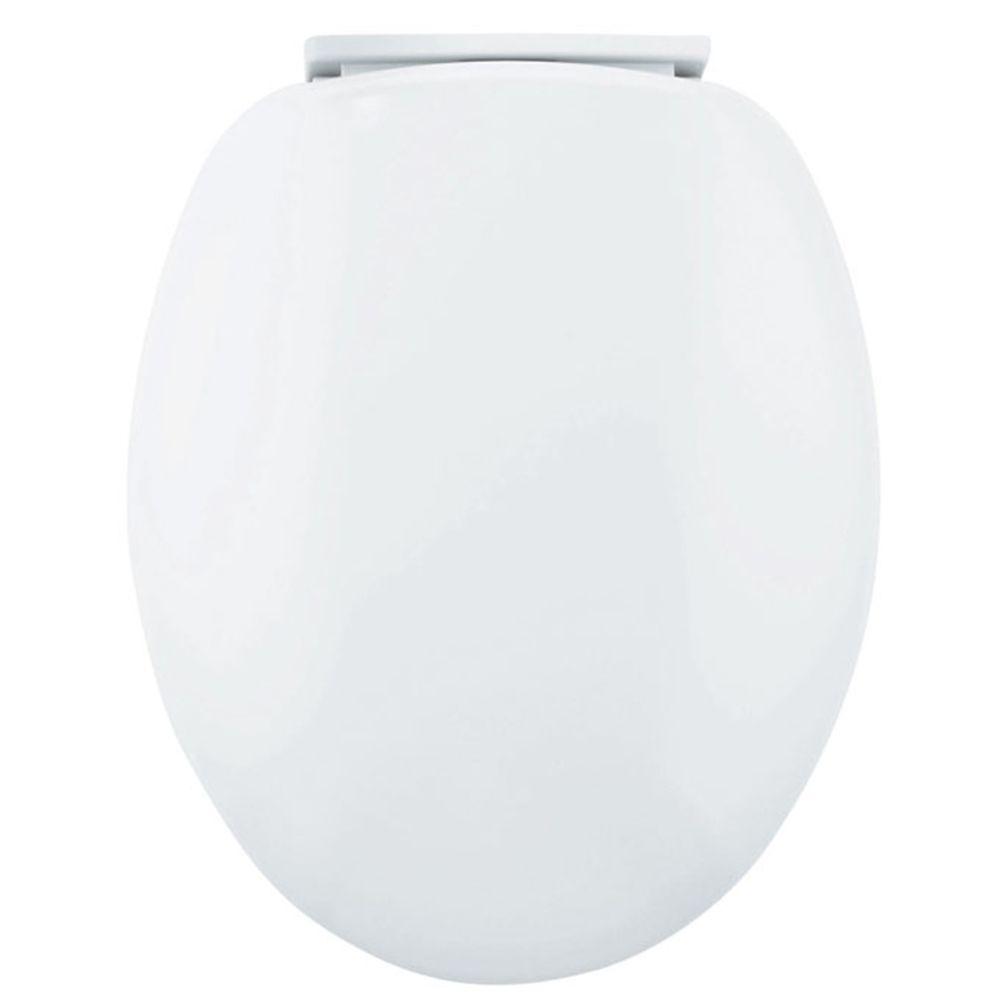 Yppss Abattant de WC en bois massif avec ouverture frontale et fond ultra r/ésistant en forme de V pour si/ège de toilette en bois massif Blanc 42 ~ 47 x 36,5 cm
