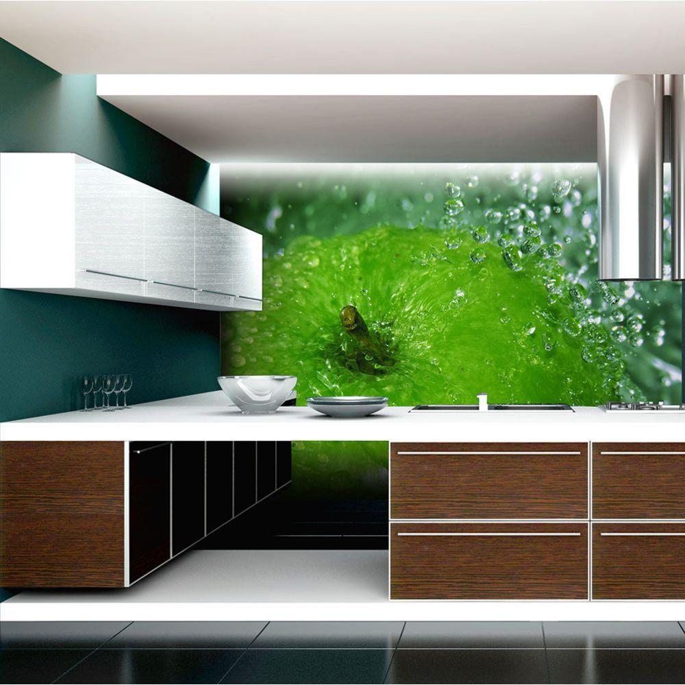 Bimago Papier peint - Pomme verte - Décoration, image, art   Motifs de cuisine  
