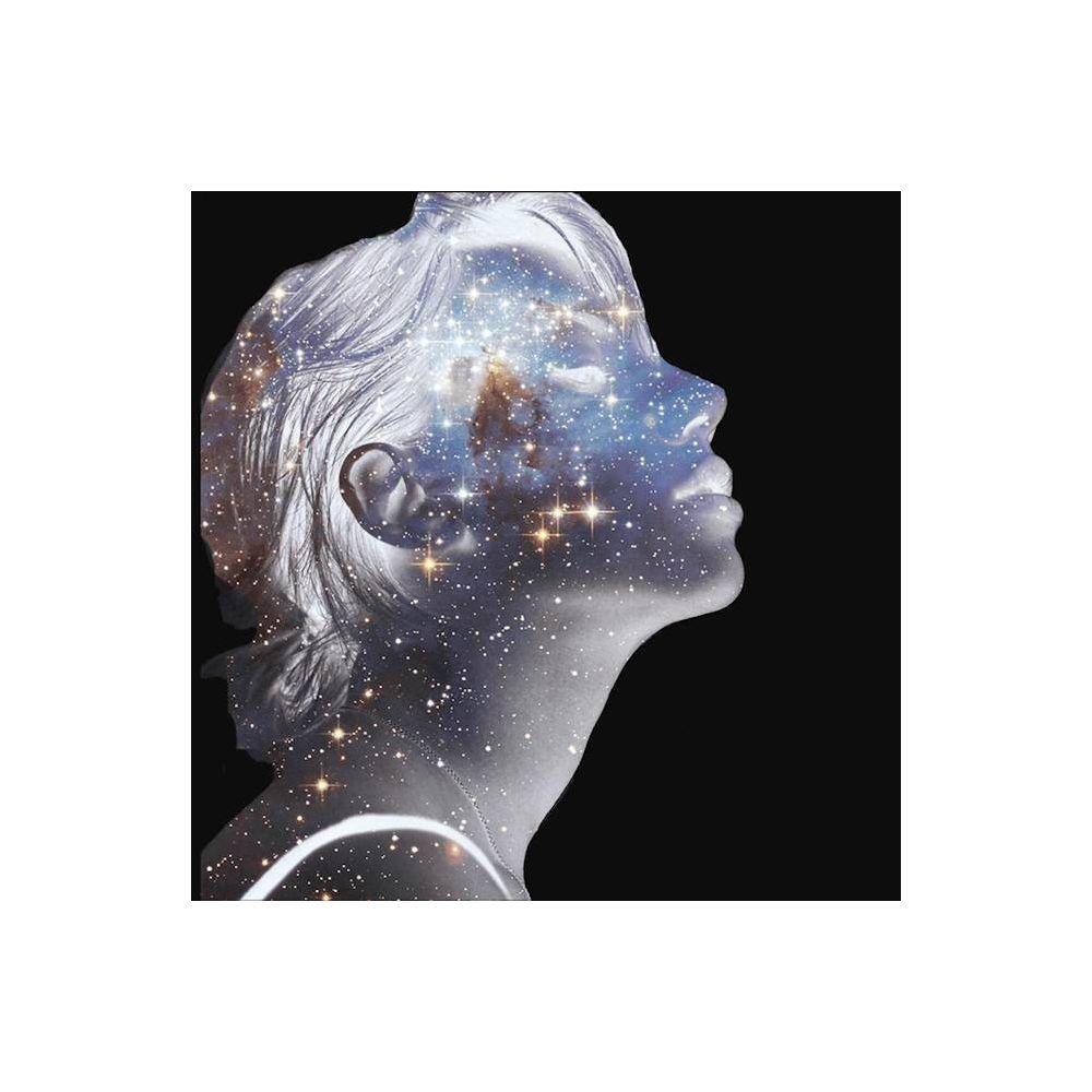 Homemania HOMEMANIA Tableau Limited Edition - Femme - Constellations - pour Séjour, Chambre - Multicolore en Coton, Bois, 30 x 2 x