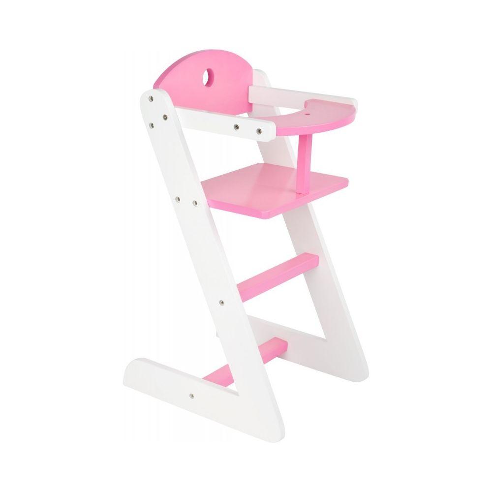 Small Foot Company Chaise haute de poupée Rêve de fille