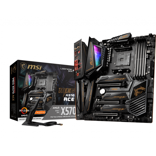 Msi - AMD X570 MEG ACE - ATX - Carte Mère