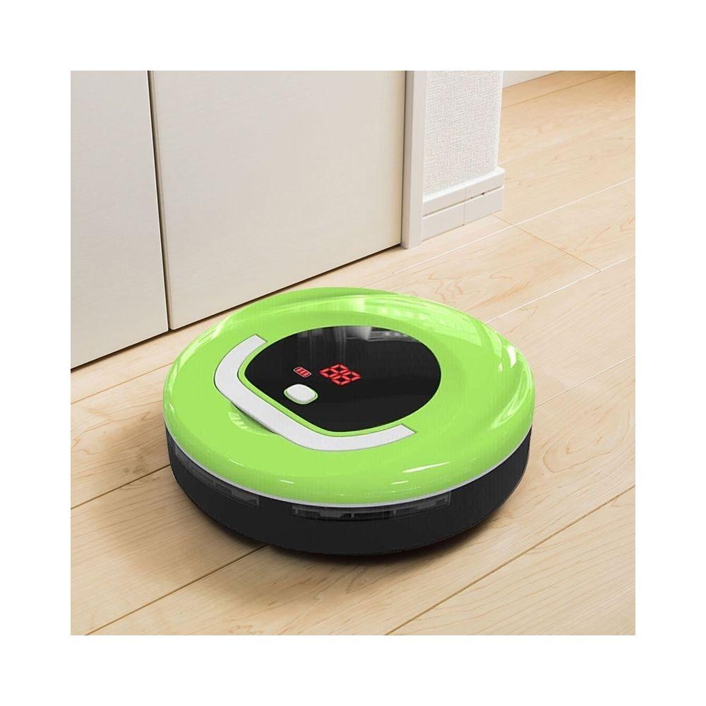 Wewoo Robot Aspirateur FD-RSW C Nettoyeur de Balayeuse de Ménage Intelligent Vert