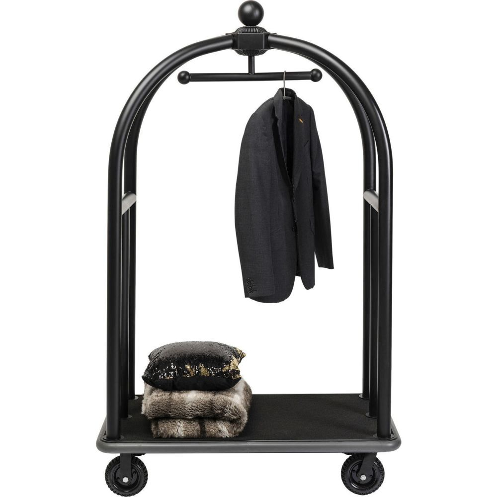 Karedesign Chariot à bagages VIP Vegas noir mat Kare Design