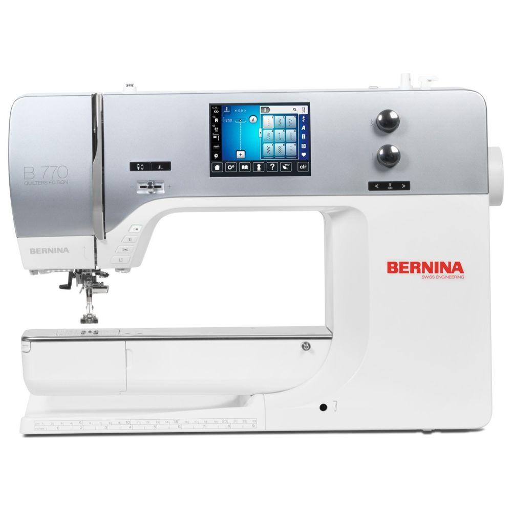 Bernina BERNINA 770 QE Machine à coudre à broder et à qui