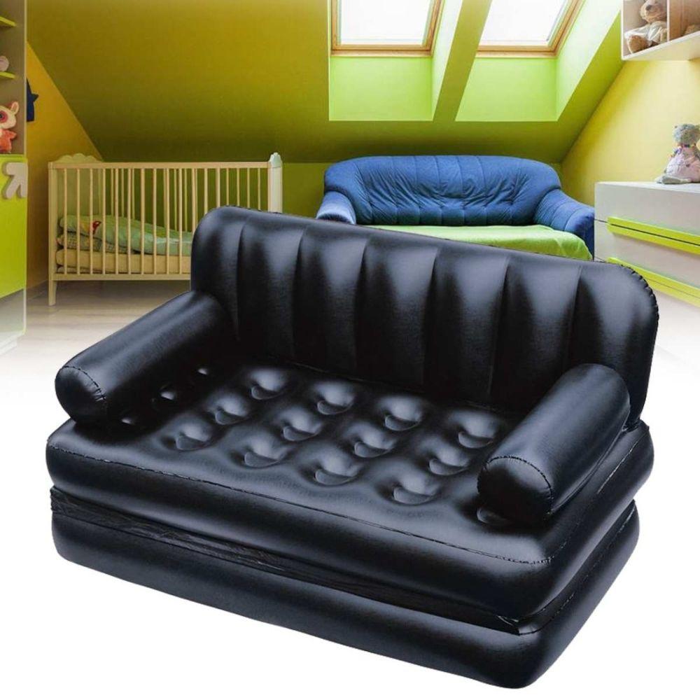 Wewoo Fauteuil Matelas extérieur campant de lit gonflable double de salon multifonctionnel de sofa de jardin