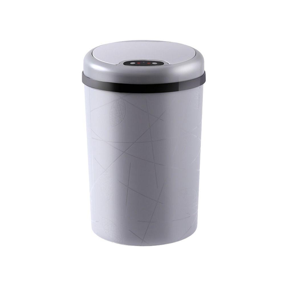 E-Thinker Poubelle de Cuisine Automatique - 12L Gris