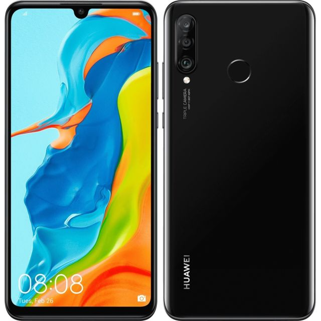 Huawei - P30 Lite XL - 256 Go - Noir - Smartphone Android