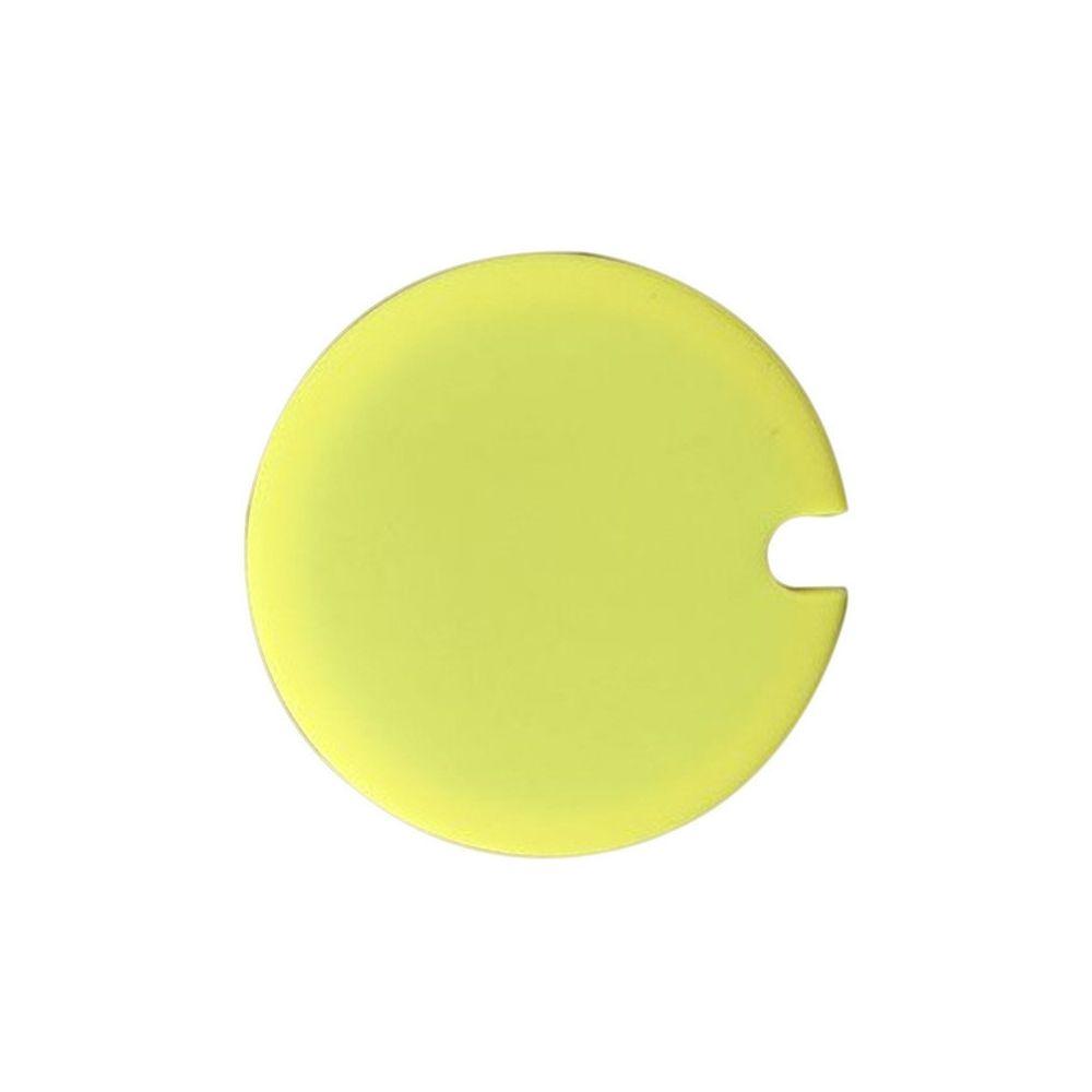 Wewoo 5 PCS Creative Cup Lids Couvercle de tasse en silicone de qualité alimentaire sain et résistant à la chaleur avec espace