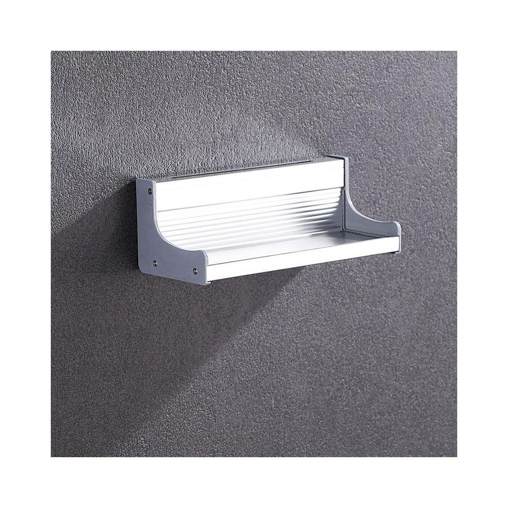 Wewoo Support de rangement en aluminium pour porte-condiments mural multifonctions de cuisine de 30 cm sans poinçonnage
