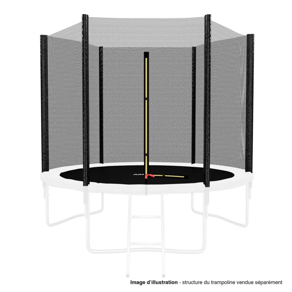 Kaia Sports Filet de sécurité extérieur Universel pour trampoline ø 8Ft, 6 Perches