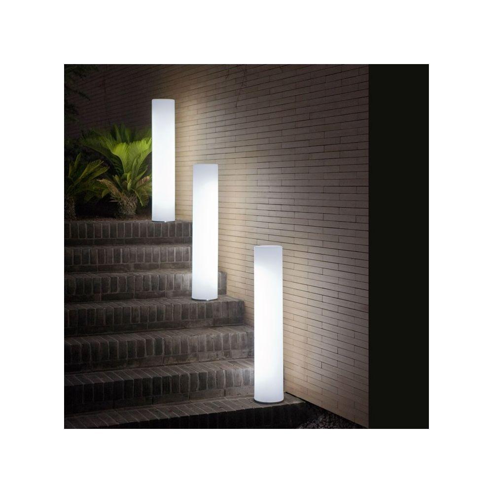 New Garden FITY-Lampadaire d'extérieur / Colonne lumineuse LED avec câble H102cm Blanc New Garden