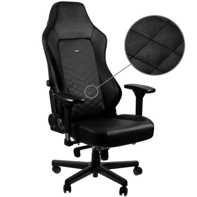 Noblechairs - HERO - Noir/Noir Noblechairs   - Chaise gamer