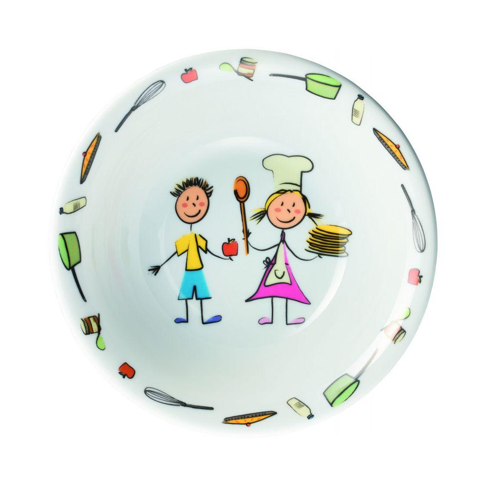 Materiel Chr Pro Bol Porcelaine Maternelle pour Enfant Ø 170 m - Lot de 6 - Stalgast - 17 cm Porcelaine